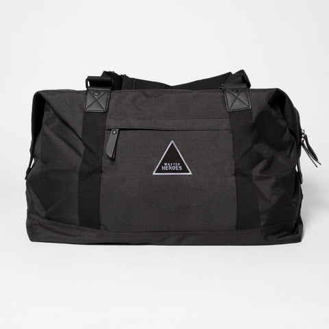 Wasted Heroes Overnight Bag - Black