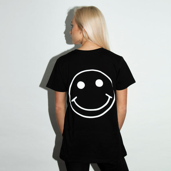 Acid Party Shock  - Women's Tshirt - Black - Wasted Heroes