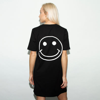 Acid Party Shock - Longline Womens - Black - Wasted Heroes