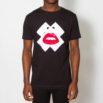 X Face - Tshirt - Black - Wasted Heroes