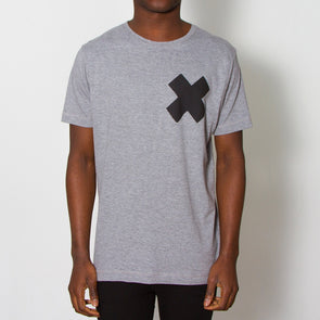 X - Tshirt - Grey - Wasted Heroes