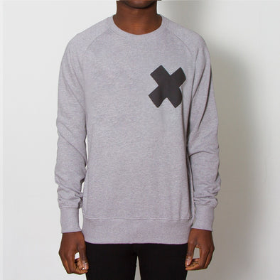 X - Sweatshirt - Grey - Wasted Heroes
