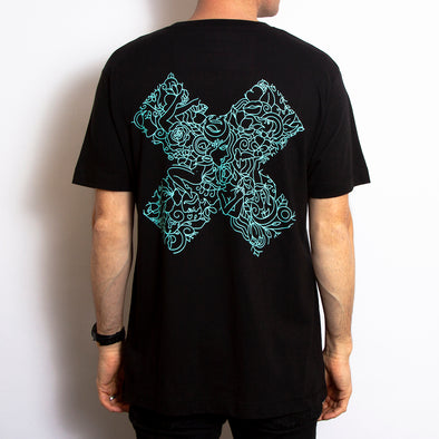X Terrace - Tshirt - Black - Wasted Heroes