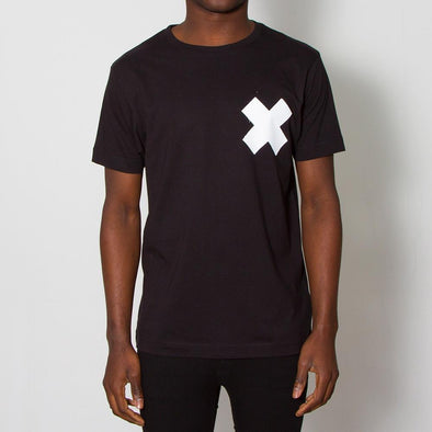 X - Tshirt - Black - Wasted Heroes