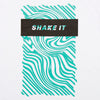 Shake It Green - Tshirt - White