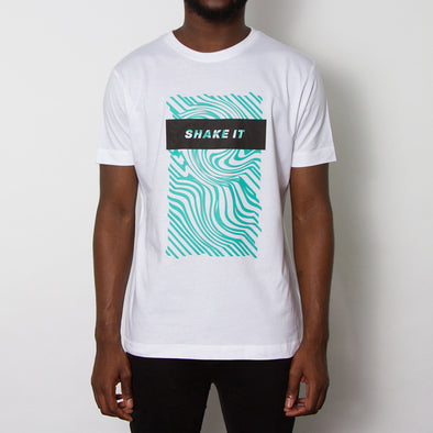 Shake It T-shirt - White/Green