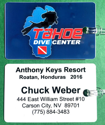 SCUBA TRIP CUSTOM LUGGAGE TAG