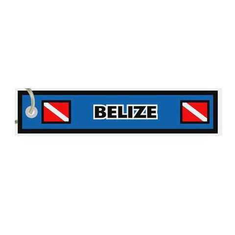 Belize Destination Tag
