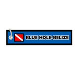 Blue Hole Belize Keychain