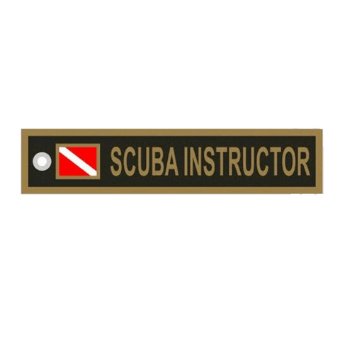Scuba Instructor Keychain