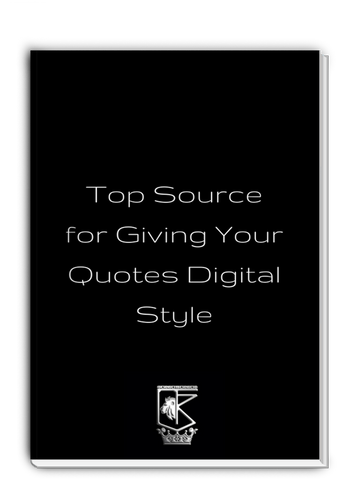 Top Source for Giving Your Quotes Digital Style