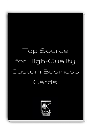 Top Source for High-Quality Custom Business Cards