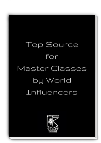 Top Source for Master Classes by World Influencers