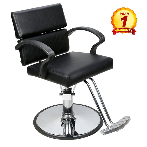 BarberPub Classic Hydraulic Barber Chair Salon Beauty Spa Styling Chair 1039 Black