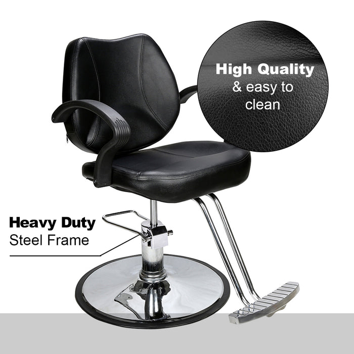 BarberPub Classic Hydraulic Barber Chair Salon Beauty Spa Styling Equipment 8801