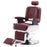 BarberPub Hydraulic Vintage Barber Chair Recline All Purpose Lincoln Salon Equipment 8740