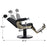 BarberPub Vintage Barber Chair Heavy Duty Metal Frame All Purpose Hydraulic Recline Beauty Salon Spa Equipment 2905