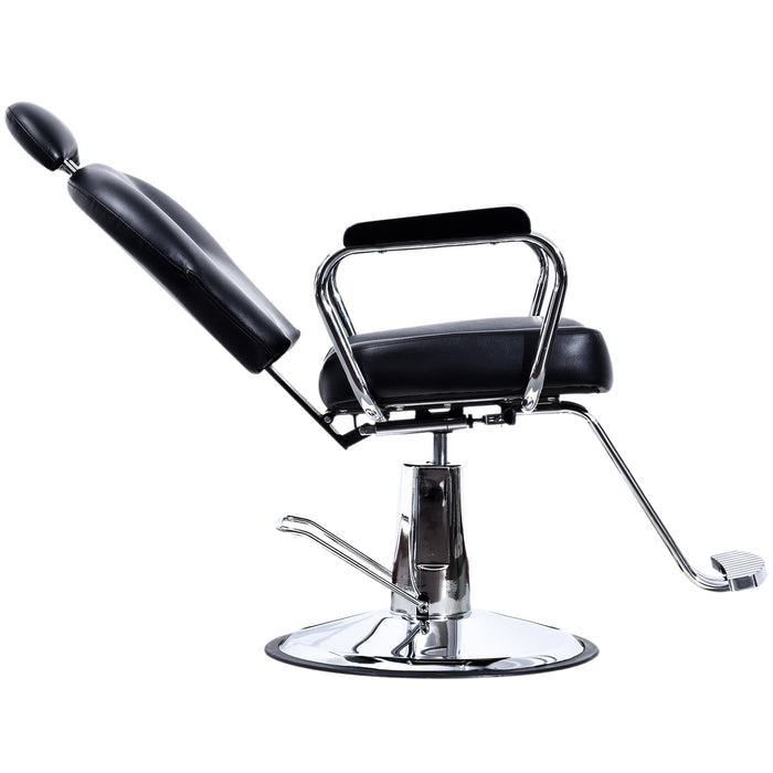 BarberPub Hydraulic Barber Chair Recline Spa Salon Chair Styling Equipment 3022