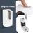 Purgerm Automatic Hand Sanitizer Dispenser Stand, Touchless Universal Portable Soap Dispenser with 1 Gallon Hand Sanitizer Gel DSD06 & HS-FL1G-1b