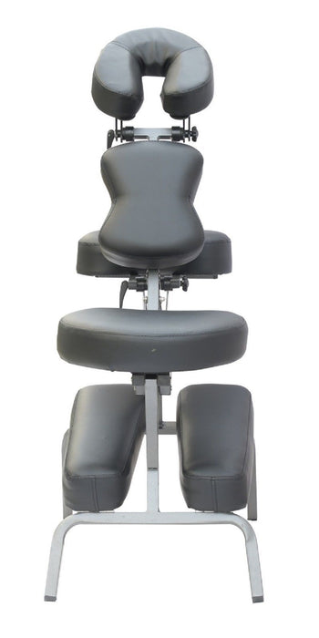 "Portable Massage Chair Tattoo Spa Chair W/4"" foam & Carry Case & Aluminum Cradle S004"
