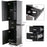 BarberPub Wall Mount Barber Station Hair Styling Drawer Storage Beauty Salon Spa Equipment 3205