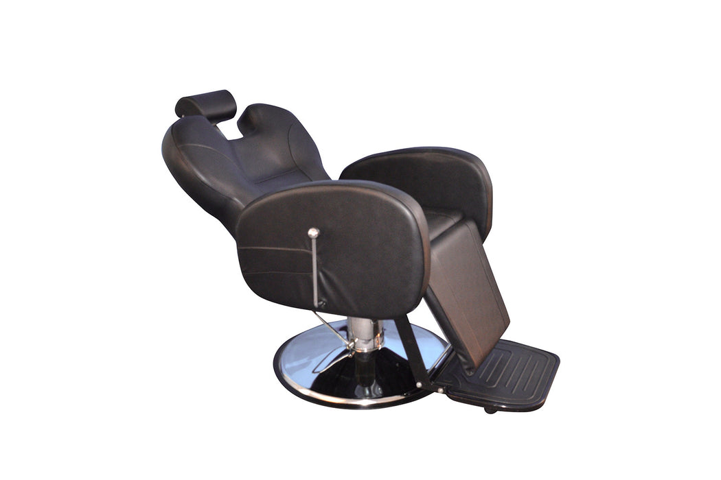 BarberPub All Purpose Hydraulic Recline Barber Chair Salon Beauty Spa 8701 Black