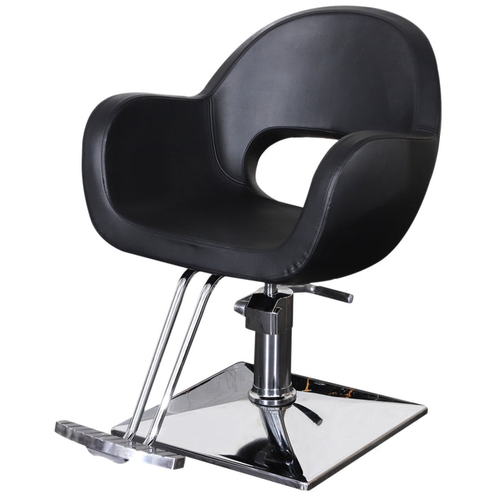 BarberPub Classic Hydraulic Barber Chair Salon Beauty Spa Hair Styling Chair 2046