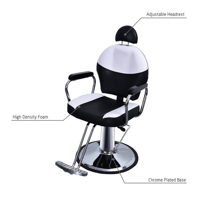 BarberPub Hydraulic Recline Chair All Purpose Salon Beauty Spa Shampoo Equipment 9838