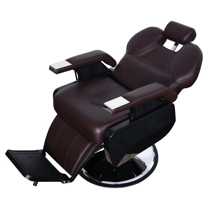 BarberPub Hydraulic Recline Barber Chair All Purpose Salon Beauty Spa Styling Equipment 2687
