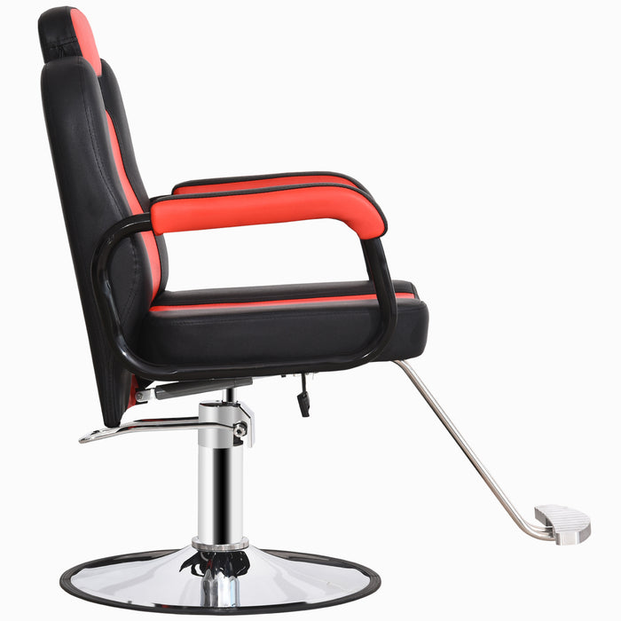 BarberPub Reclining Hydraulic Barber Chair Salon Styling Beauty Spa Shampoo 8241