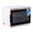 BarberPub Hot Towel Warmer Disinfection Cabinet UV Sterilizer 25L Spa Equipment 2 in 1