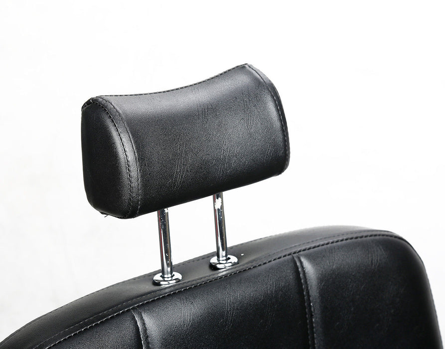 BarberPub All Purpose Hydraulic Barber Chair Salon Beauty Spa Chair Shampoo Recliner 2059 Black