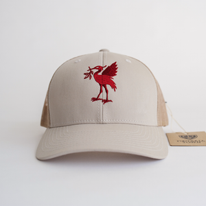 The Bird White Trucker