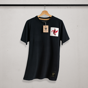 Flying Bird Patch T-shirt (4618769301567)