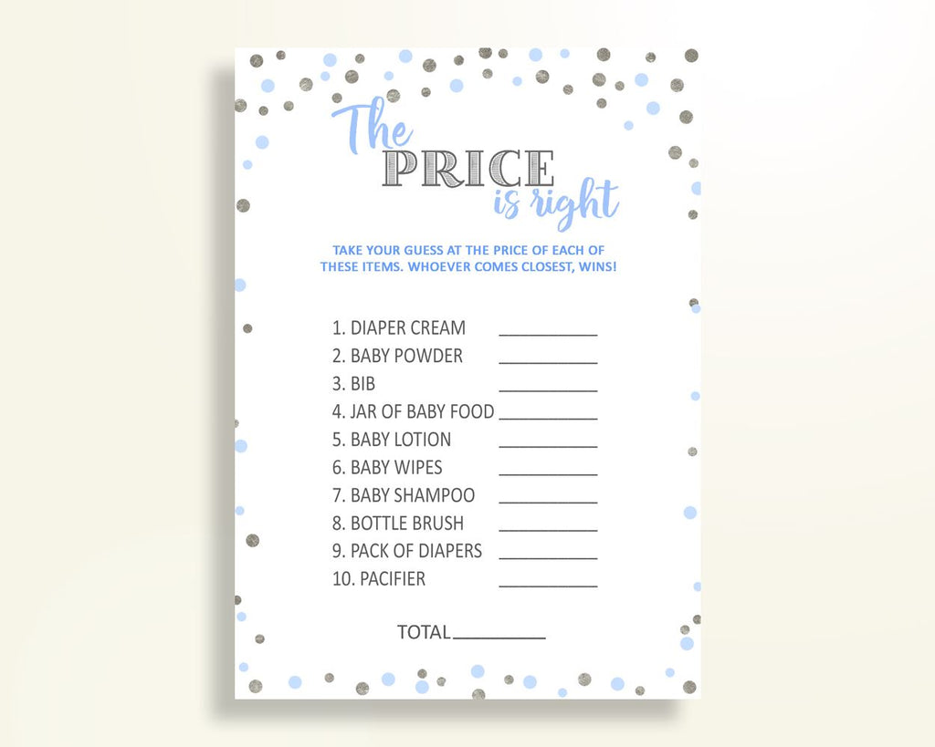 Price Is Right Baby Shower Price Is Right Blue And Silver Baby Shower Price Is Right Blue Silver Baby Shower Blue And Silver Price Is OV5UG - Digital Product