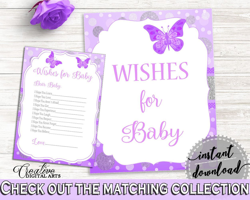 Wishes Baby Shower Wishes Butterfly Baby Shower Wishes Baby Shower