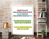 Baby Shower Dots Pink And Green Popular Sign Baby Well Wishes WISHES FOR BABY, Party Supplies, Paper Supplies - bsf01 - Digital Product