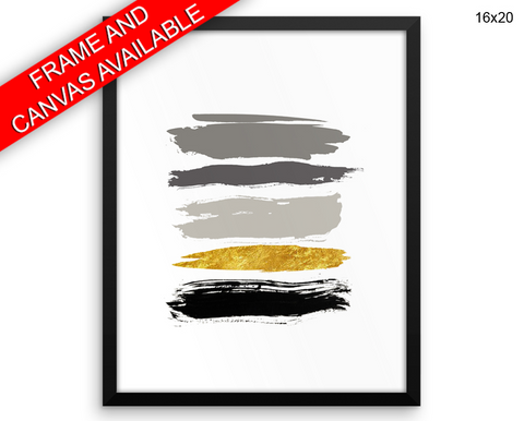 Strokes Print, Beautiful Wall Art with Frame and Canvas options available Living Room Decor