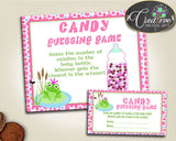 Baby Prince Charming Frog Baby Shower Candy Filled Bottle Baby Bottle CANDY GUESSING GAME, Digital Download, Digital Print - bsf01 - Digital Product