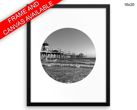 California Print, Beautiful Wall Art with Frame and Canvas options available Monochrome Decor