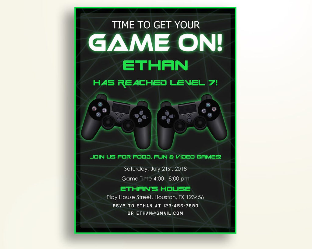 Video game birthday invitation video game birthday party invitation video game birthday invitation video game birthday party invitation video game birthday party video game invitation stopboris Choice Image