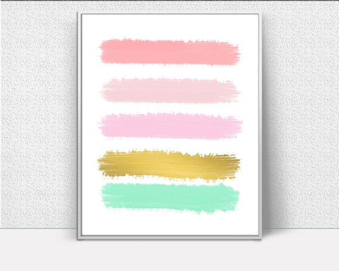 Abstract Art, Abstract Paint, Abstract Strokes Art, Abstract Digital Printable Wall Art, printable signs, Art Prints, Minimalist Print - Digital Download