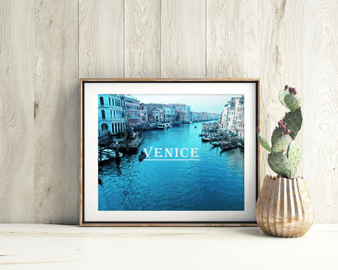 Wall Decor Venice Printable Italy Prints Venice Sign Italy Photography Art Italy Photography Print Venice Printable Art Venice Travel - Digital Download