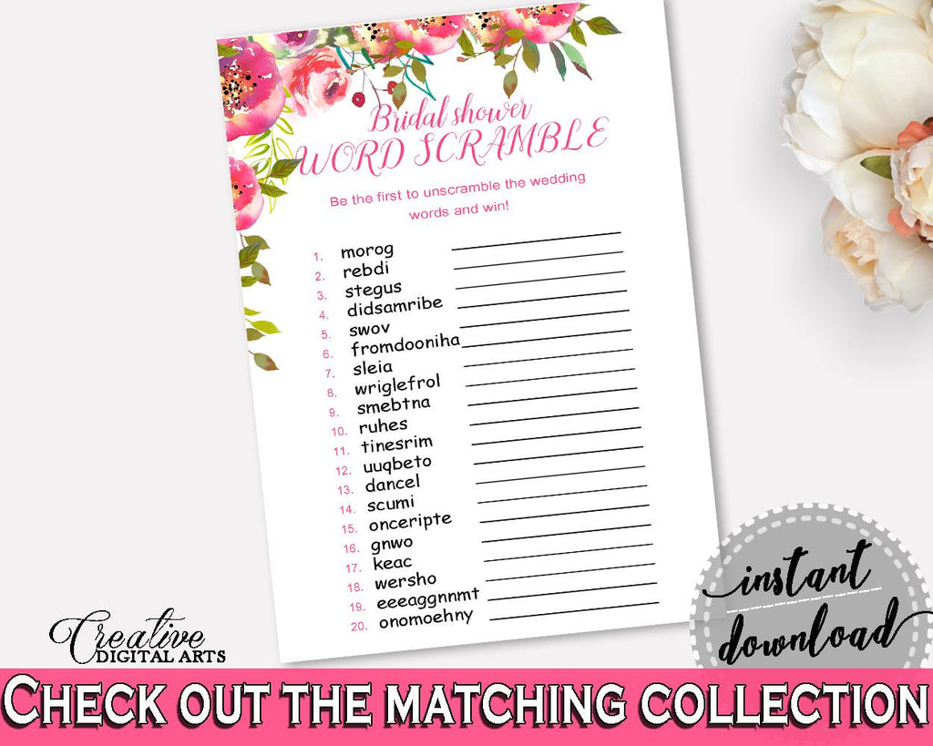 word scramble bridal shower word scramble spring flowers bridal shower word scramble bridal shower spring flowers