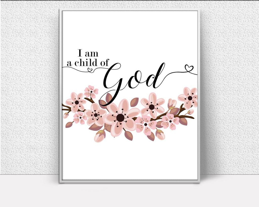 Wall Art Child Of God Digital Print Child Of God Poster Art Child Of God Wall Art Print Child Of God Faithful Art Child Of God Faithful - Digital Download