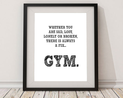 Wall Art Gym Digital Print Gym Poster Art Gym Wall Art Print Gym Gym Art Gym Gym Print Gym Wall Decor Gym cure - Digital Download
