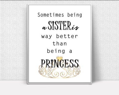 Wall Art Sister Digital Print Sister Poster Art Sister Wall Art Print Sister Family Art Sister Family Print Sister Wall Decor Sister - Digital Download
