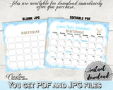 Little Lamb Baby Shower Boy GUESS BABY BIRTHDAY editable due date calendar baby shower printable, sheep due date, instant download - fa001
