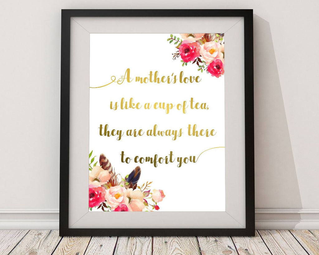 Wall Art Mothers Day Digital Print Mothers Day Poster Art Mothers Day Wall Art Print Mothers Day Gift Art Mothers Day Gift Print Mothers Day - Digital Download