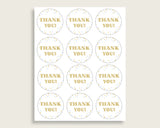 Favor Tags Baby Shower Favor Tags Confetti Baby Shower Favor Tags Blue Gold Baby Shower Confetti Favor Tags shower celebration cb001